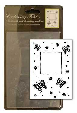 CCC: Embossing Folder; Butterfly