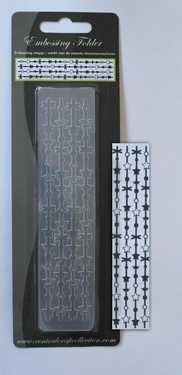 CCC: Border Embossing Folder; Borders