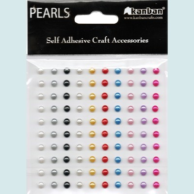 Kanban: Self Adhesive Craft Accessories; Pearls