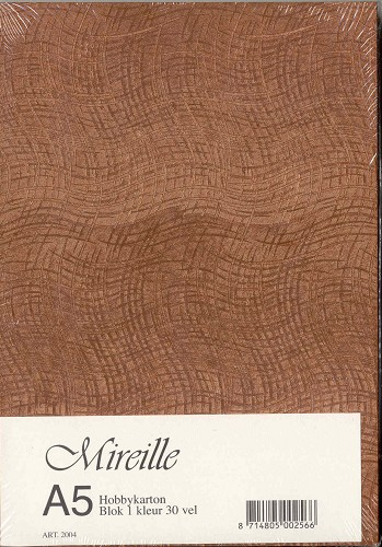 Mireille: Metallic karton; Copper
