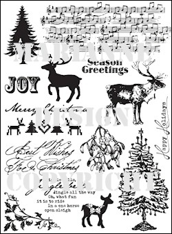 MD: Clear Stamp; Jingle Bells