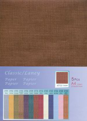5 vel Classic Paper Laney: Copper