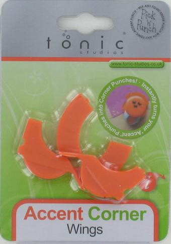 Tonic Accentpons: Cornerwings