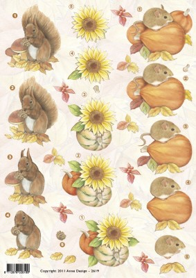 F&F: Anne; Autumn, Squirell & Mouse