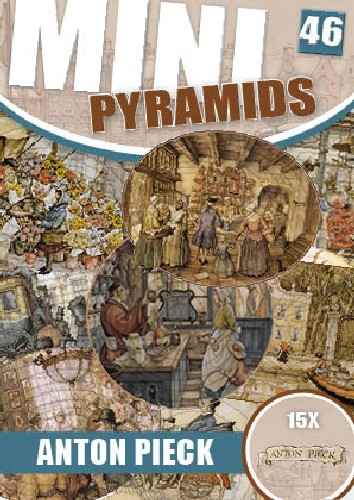 SL: Mini pyramids book; Anton Pieck
