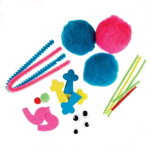 Pom Pom Kit Monsters (makes 2)