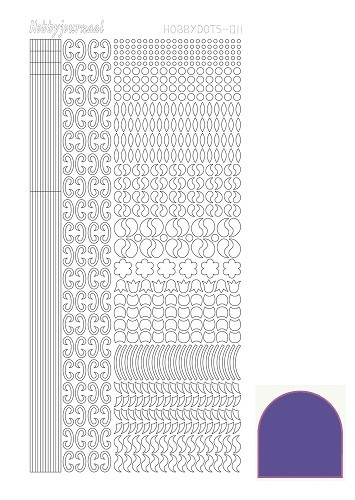 Hobbydots: Mirror; Purple