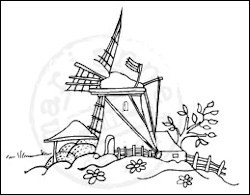 MD: Clear Stamp; Molen