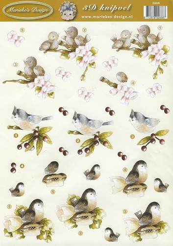 Marieke Design: Birds = Vogels