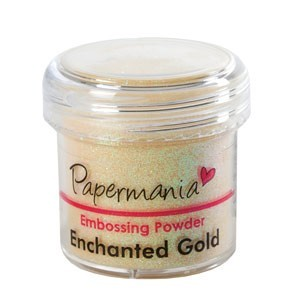 Papermania: Embossingpoeder; Enchanted Gold