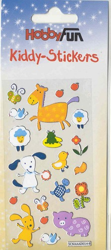 HobbyFun: Kiddy-Sticker; Farm