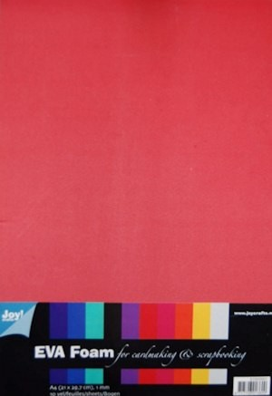Joy!: Foam rubber assorti 10 kleuren A4