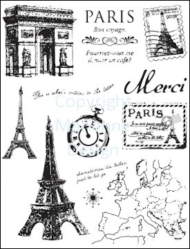 MD: Clear Stamp; Paris