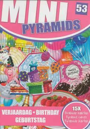 Sl Pyramids Minibook Verjaardag Birthday Welkom Op De Internet