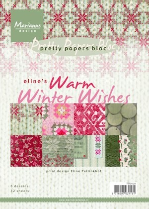 MD: Pretty Paperblock; Eline`s Warm Winter Wishes