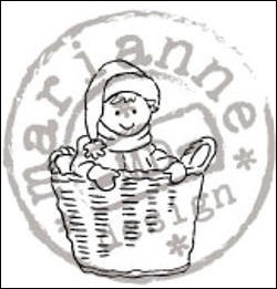 MD: Clear Stamp; Tiny`s Basket