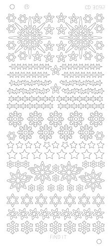 FI: Platinum; Various Stars and Snowflakes