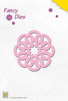 NS: Fancy Die; Flower