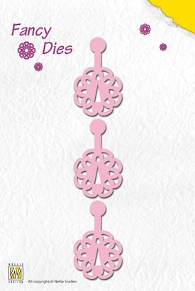 NS: Fancy Die; Click Flower
