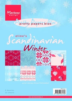 Pretty Paper Bloc: Eline`s Scandinavian Winter
