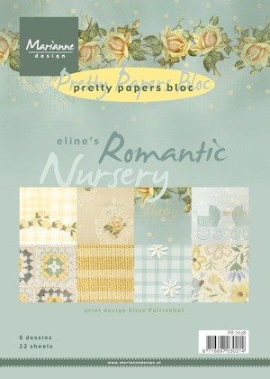 MD: Pretty Paperbloc; Romantic Nursery