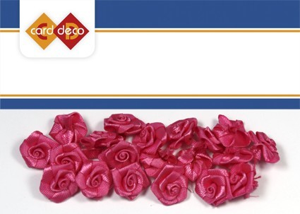 Carddeco: Flowers 15 mm 20 pcs; Fel Rose