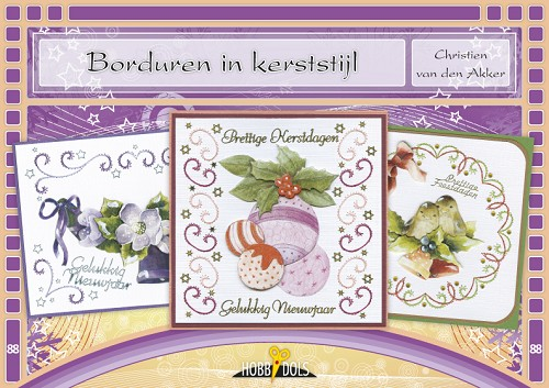 Hobbydols 88 - Borduren in kerststijl
