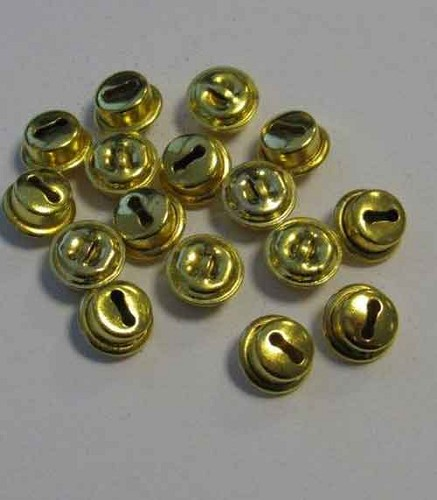 H&C: Cat`s  Bells; 10 mm, 16 pcs, GOLD