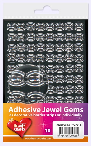 Hearty Craft: Adhesive Jewel Gems; Cat Eye
