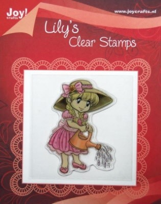 Joy!: Clear Stamp; Lily met gieter