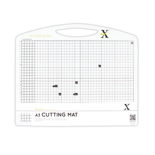 X-Cut: A3 Self Healing Duo Cutting Mat - Black + White