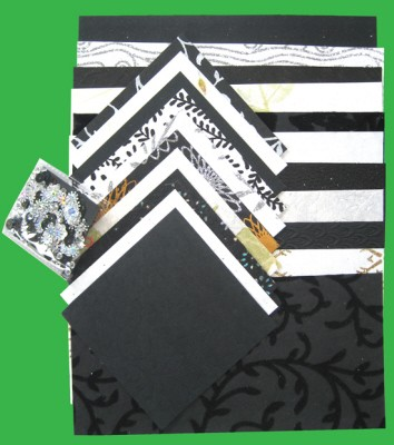Handmade Paper Pack A4: Black