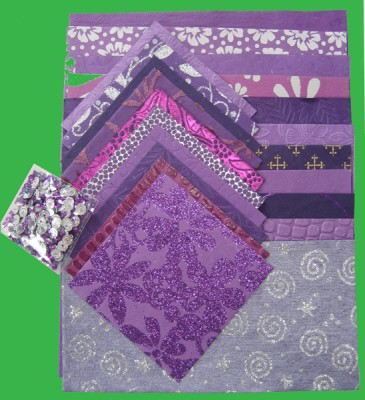 Handmade Paper Pack A4: Purple