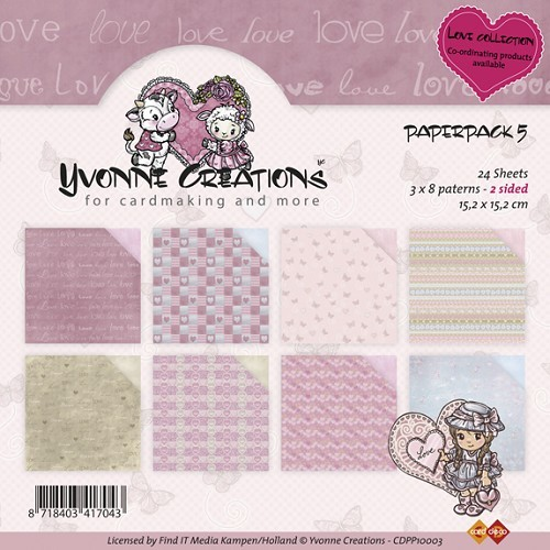 Yvonne: Paperpack 5;  Valentine