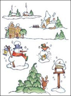 MD: Clear Stamp; Don & Daisy, Theme Winter