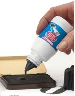 Collall: Stempel inkt 50 ml; Rood