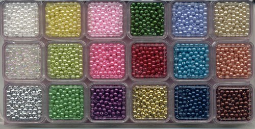Parel-assortiment 3 mm