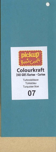 PickUp Colourktaftkarton: Turkooisblauw