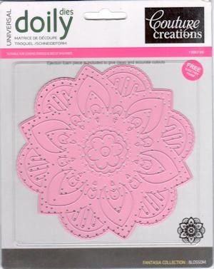 Couture Creations: Doily Die Blossom