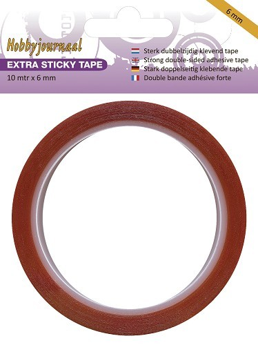 Hobbyjournaal: Extra Sticky Tape - 6 mm