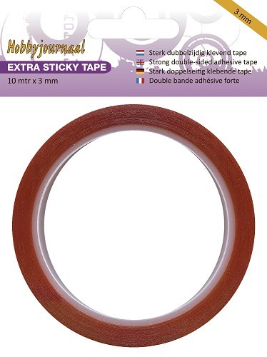 Hobbyjournaal: Extra Sticky Tape - 3 mm