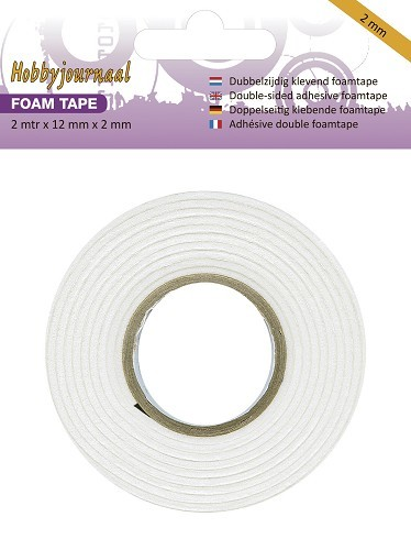 Hobbyjournaal: Foam Tape - 2 mm