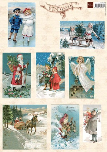 MD: Vintage Christmas Cards 1