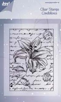 Joy!: Clear stamp; Lilies 2