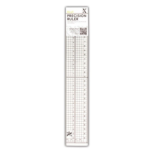 X-Cut: Precision Ruler woth Metal Edge inlay 30 cm