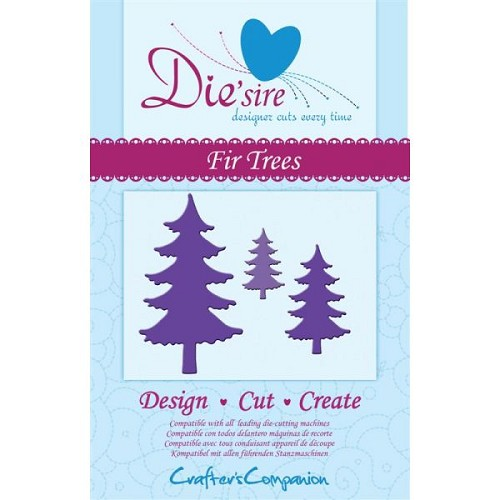 Crafters Com: Die`Sire die; Fir Trees
