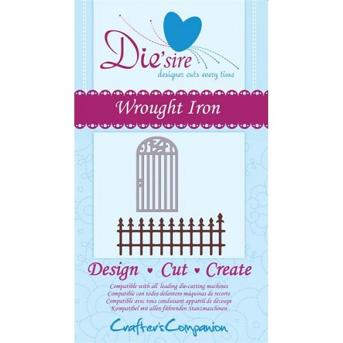 Crafters Com: Die`Sire die; Wrought Iron