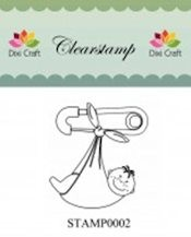 Dixi: Clear stamp; Baby