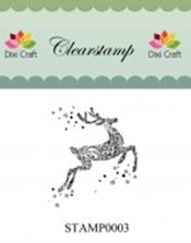 Dixi: Clear stamp; Reindeer