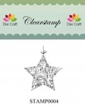 Dixi: Clear stamp; Christmas Star
